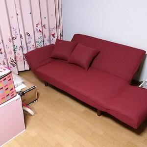 ソファーベッドの感想