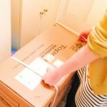 家電の搬入、家具の購入