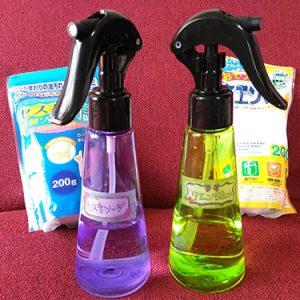セスキ炭酸ソーダとクエン酸で掃除