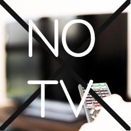 TVのない生活…さして困らない