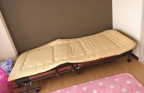 ベッドを貰う