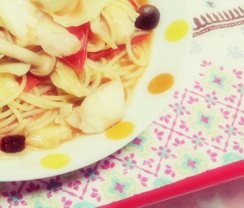 最近食費が自重できてない&パスタの超適当レシピ