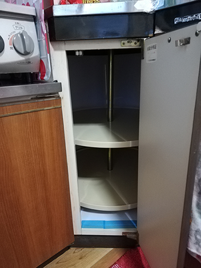 新居のルームツアー・キッチン