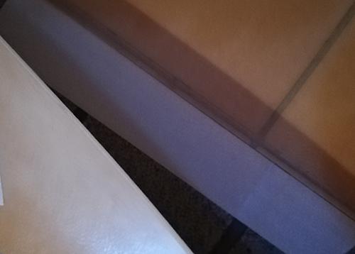 玄関の床にクッションフロアを貼る5